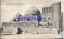 100563 KAZAJISTAN TOURKESTAN VIEW OLD BUILDING POSTAL POSTCARD - Kazakhstan