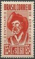LSJP BRAZIL 200 YEARS CITY OF SOROCABA BALTASAR FERNANDES 1954 - Brésil