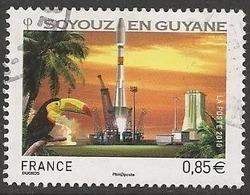 LSJP FRANCE ROCKET SOYOUZ EN GUYANE TOUCAN 2010 - France