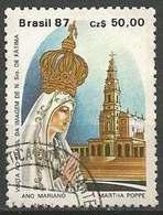 LSJP BRAZIL OUR LADY OF FATIMA 1987 - Oblitérés