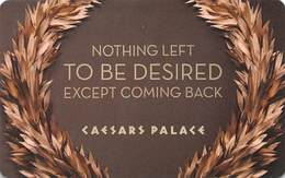 Caesars Palace Casino Las Vegas Hotel Room Key Card With C2-4146114 - Hotel Keycards