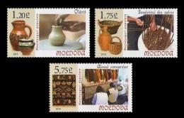 Moldova 2014 Mih. 858/60 Handicrafts MNH ** - Moldova