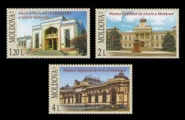 Moldova 2014 Mih. 866/68 Museums Of Moldova MNH ** - Moldova