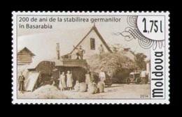 Moldova 2014 Mih. 869 Germans Settlement In Bessarabia MNH ** - Moldawien (Moldau)