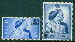 1948 Oman-Silver Wedding - Number 25-26 MNH (**) - Great Britain (former Colonies & Protectorates)