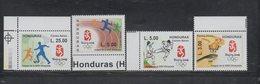 MNH Honduras 2008 Ful Set Oympics Games Beijing Soccer Karate - Summer 2008: Beijing