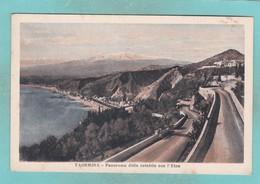 Old Post Card Of Taormina, Sicily, Italy ,S59. - Italia