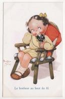 "° ILLUSTRATEUR ° BEATRICE MALLET ° Le Bonheur ... ° Raphael Tuck & Son's ""OILETTE"" N.3628 ° CUTE KIDDIES Series 10 ° - Mallet, B."