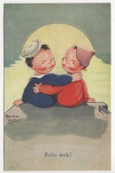 "° ILLUSTRATEUR ° BEATRICE MALLET ° Enfin Seuls! ... ° Raphael Tuck & Son's ""OILETTE"" N.3629 ° CUTE KIDDIES Series 11 - Mallet, B."