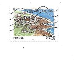 Série Touristique La Pointe Saint-Mathieu N°4679 Oblitéré Année 2012 - Gebruikt