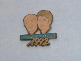 Pin's JEAN JACQUES ET SYLVIE, 1992 - Badges