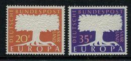 Europa-CEPT // Allemagne-Saar Land  // 1957 Timbres Neufs** - Europa-CEPT