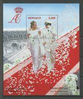 MONACO 2011 Bloc N° 101 ** ( 2805 ) Neuf MNH Superbe Monacophil Exposition Couple Princier Tenue De Mariés - Blocchi