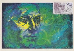 Carte  Maximum  1er  Jour     FRANCE    Roland  DORGELES    AMIENS   1985 - Cartes-Maximum