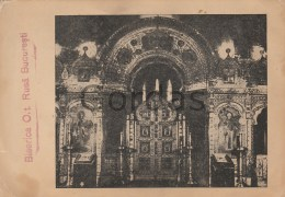 Romania - Bucuresti - Biserica Rusa - Photo - 120x175mm - Lieux