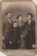 Romania - Iasi - 1903 - Isac Goldenberg Hirschenratten - Judaica - Photo Weiss 110x165mm - Anciennes (Av. 1900)