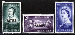 Afrique Du Sud 1952 Yvert 192A-B / 193 ** TB - Unused Stamps