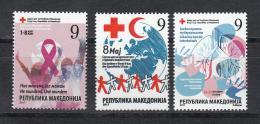 Macedonia Mazedonien 2017  MNH ** Ma 776 Red Cross - Mazedonien