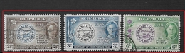 BERMUDA    1949 The 100th Anniversary Of Postmaster Perot's Stamp  USED SET - Bermuda