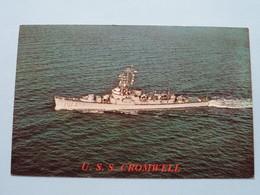 U.S.S. CROMWELL ( DE-1014 ) Anno 19?? ( Voir Photo ) ! - Guerre