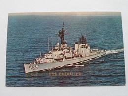 U.S.S. CHEVALIER ( 805 ) Anno 19?? ( Voir Photo ) ! - Guerre