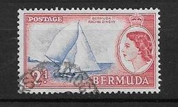 """BERMUDA   1953 Local Motives And Queen Elizabeth II  *""""Victory II"""" (Racing Dinghy) - Bermuda"""