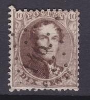N° 14 A  LP  146 GERPINNES DISTRIBUTION COBA +20.00 - 1863-1864 Medallones (13/16)