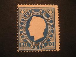 50 Reis MACAU 1888 Yvert 37 (Perf. 12 1/2 Cat. Year 2008: 32,50 Eur) Stamp Macao Portugal China Area - Macao