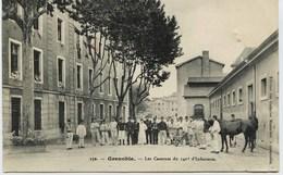 2324 - Isére  -  GRENOBLE :  LA CASERNE DU 140° D'INFANTERIE      Circulée En 1914 - Francia