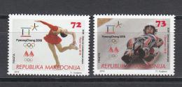 Macedonia Mazedonien 2018  MNH ** Ma 785 WINTER OLYMPIC GAMES, PYEONGCHANG, - Mazedonien