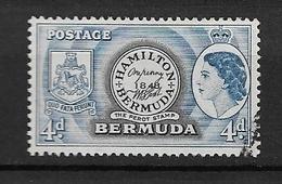 BERMUDA   1953 Local Motives And Queen Elizabeth II   *   1848 Perot Stamp - Bermuda