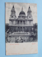 St. Paul's Cathedral ( Stengel ) Anno 19?? ( Voir Photo ) ! - St. Paul's Cathedral