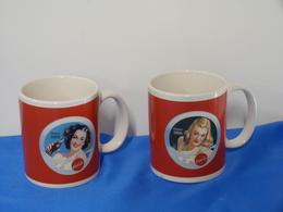 "Lot De 2 Mugs ""COCA COLA"" - Household Necessity"