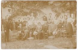 8817 Sebia, Zsablya, Zabalj Photo Postcard Mailed 1914: Representatives Of The Silk Factory - Serbia