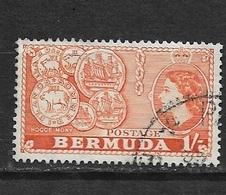 BERMUDA   1953 Local Motives And Queen Elizabeth II   USED  #144 - Bermuda