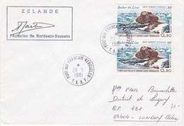 TAAF81 - YT PA N°57 X 2 - Zelande - Cachet à Date Port Aux Françai S- Kerguelen Du 29 Mai 1981 - Terres Australes Et Antarctiques Françaises (TAAF)