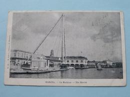HABANA ( HAVANA ) La MACHINA / The SHEERS - CUBA ( N° 23 - M. Lazaro ) Anno 1906 > Anvers ( Voir Photo ) ! - Cartes Postales