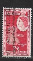 BERMUDA   1953 Local Motives And Queen Elizabeth II    #147 USED - Bermuda