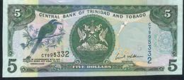 Trinidad & Tobago P47 5 Dollars 2006 #CY     UNC. - Trinidad & Tobago