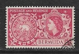 BERMUDA   1953 Local Motives And Queen Elizabeth II    #148 USED - Bermuda