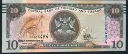 Trinidad & Tobago P57 10 Dollars 2006 #DP Mark For Blind Issued 2017 Unc. - Trinidad & Tobago