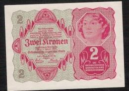 AUTRICHE  P74  2  KRONEN 1922    UNC. - Austria