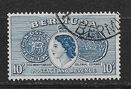 BERMUDA   1953 Local Motives And Queen Elizabeth II    #149USED - Bermuda