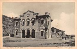 """0467 """"REPUBBLICA DI SAN MARINO - STAZIONE DELLA CITTA'"""" ANIMATA.  CART NON SPED - Saint-Marin"""