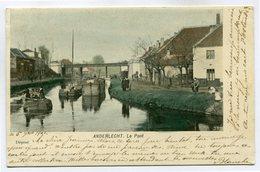 CPA - Carte Postale - Belgique - Anderlecht - Le Pont - 1900 ( SV5758) - Anderlecht