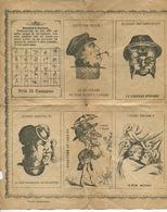 Imagerie Populaire RARE Alphabet Sourd Muet Images Magie Double Face  Cheval Creole Cuisinier Savant  Amoureux - Other