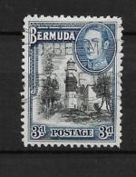 BERMUDA     -       1938 Landscapes And King George VI          USED - Bermuda
