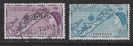 "BERMUDA   1953 Three Power Talks - Issue Of 1953 Overprinted ""Three Power Talks December, 1953"" 153* - Bermuda"
