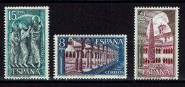 SERIE TIMBRES 1973 MNH SANTO DOMINGO DE SILOS MONASTÈRE - Abadías Y Monasterios