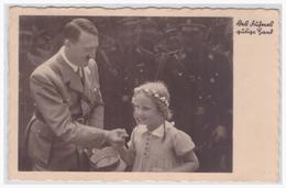 Dt.- Reich (001277) Propagandakarte Des Führers Gütige Hand, Hitler Mit Kind, Gelaufen Am 2.9.1940 - Germany